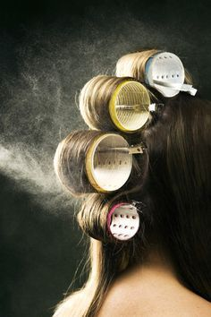 Flat Hair Fixes: 20 Secrets Everyone With Fine Hair Should Know: Velcro Rollers: The Secret to Bouncy Hair? Fine Hair Tips, Long Fine Hair, Medium Fine Hair, Haircuts For Fine Hair, Hairstyles For Fine Hair, Bobs For Fine Hair, Long Haircuts, Curling Fine Hair, Best Hair Styling Products