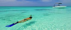 World's most beautiful beaches - Snorkeling off Providenciales, Turks and Caicos