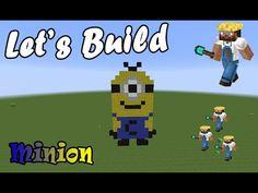 #Letsbuild - PixelArt - Minion - Minecraft ITA - YouTube
