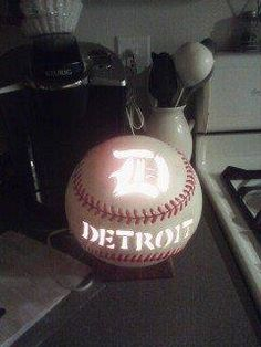 Detroit Tiger Light by ThisIMadeForYou on Etsy, $25.00