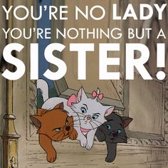 The Aristocats - one of my very favorite childhood movies.