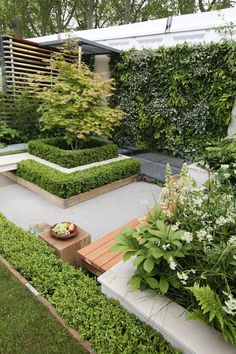 RHS Chelsea Flower Show 2009 - Eco Chic garden designed by Kate Gould