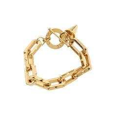 Chunky Spiked Chain Bracelet