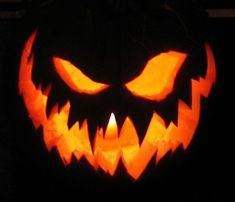Sometimes, all a pumpkin needs is an amazing huge bow to bring it from the produce aisle to the house decor aisle. Before you may commence carving or painting a pumpkin, you want to get a gorgeous canvas. Halloween Pumpkin Designs, Scary Halloween Pumpkins, Halloween Jack, Happy Halloween, Halloween Decorations, Halloween 2014, Pumpkin Designs Carved, Scary Pumpkin Designs, Halloween Crafts