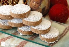 Cómo preparar unos polvorones de chocolate sin gluten. Una receta para que los celiacos disfruten de los postres navideños al 100%