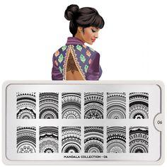 Mandala Nail Art Design 06