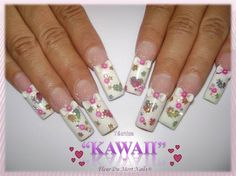 Sweet kawaii by Dumort - Nail Art Gallery nailartgallery.nailsmag.com by Nails Magazine www.nailsmag.com #nailart