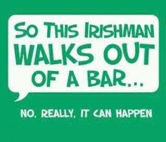 So this Irishman ...                                                                                                                                                      More