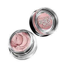 Maybelline Eye Studio Color Tattoo Metal 24HR Cream Gel Eyeshadow -... ($5.99) ❤ liked on Polyvore featuring pink