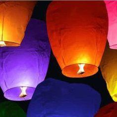 Sky Lanterns for Celebrations
