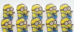 50 pcs Despicable me Flashing LED Light Up Badge/Brooch Pins birthday party Favors Christmas Valentine's day gifts D 01-in Brooches from Jewelry & Accessories on Aliexpress.com | Alibaba Group