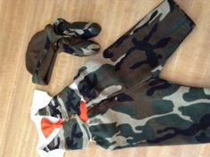 Baby Boy Camouflage Layette Set/take home by TheTinyTrendsetter