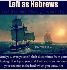 Jeremiah 17:4(KJV) And thou, even thyself, shalt discontinue from thine heritage that I gave thee; and I WILL CAUSE THEE to serve thine enemies in the land which thou knowest not: for ye have kindled a fire in mine anger,