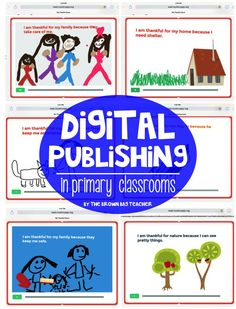 Great post on how to start with digital books and creating books on iPads with K-3rd students.