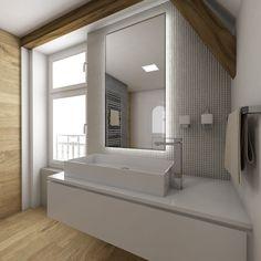 Natural bathroom SWISS - visualization