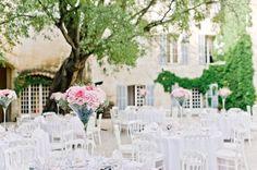 French chateau decor. Photo by Nadia Meli. www.wedsociety.com #wedding #decor