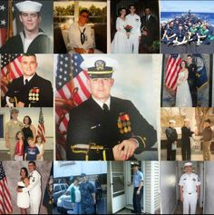 Today marks 16 years in the United States Navy for Scott . It's been an amazing journey. He's our hero congratulations.
