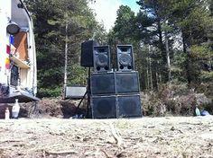 White Noise - sound enforcement. Party pounder rig.