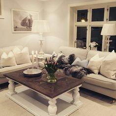 """Nydelig og innbydende hos @Marteofauskanger  """"Dubai salongbord"""" fra @classicliving #Dubaisalongbord"""