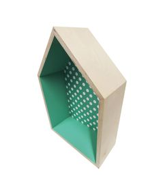 Mint Dots Shadow Box | The Print Tank