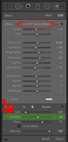 How to Whiten Eyes & Teeth in Lightroom   Pretty Presets for Lightroom