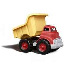 Green Toys Dump Truck in Pink and Purple or Red and Yellow. for Year Need help hauling a big load while helping save the planet? The Green Toys® Dump Truck is ready to get working Toddler Toys, Baby Toys, Kids Toys, Dump Trucks, Toy Trucks, Benne, Fine Motor Skills Development, Outdoor Baby, Green Toys