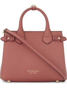 BURBERRY Banner small leather shoulder bag