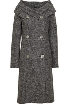 9e5c4301b64c Michael Kors Portrait-collar wool-blend coat Michael Kors Coats