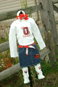 Ohio State outfit. $39.00, via Etsy.
