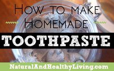 Our recipe for DIY Homemade Toothpaste will leave your mouth feeling clean and fresh.
