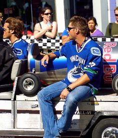 Jensen and Jared at the Red Bull Soap Box Durby