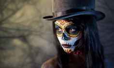 Disfraces caseros y originales para Carnaval 2018 | Maquillaje de esqueleto