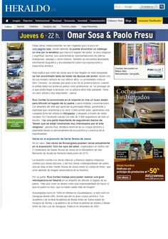 Prensa 2014 11 02 Heraldo de Aragón edición digital - Abrazar la obra de Ruizanglada 002