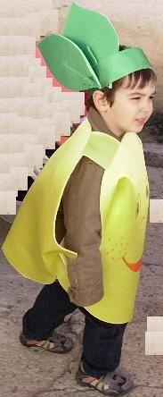El taller de Naidú: Disfraz de limón.