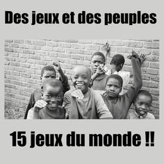 15 petits jeux de groupe à travers le monde ! Educational Activities, Activities For Kids, Kids Around The World, World Crafts, Cycle 3, Day Camp, Summer Games, Continents, Kids And Parenting