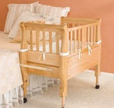 I'm doing this for the first few months until bubs is ready for his/her big cot in their own room :)
