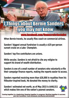 #FeelTheBern. #Bernie2016. #JoinTheRevolution!