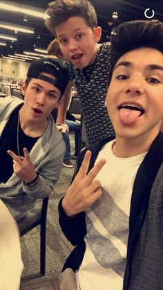 Image de carter reynolds, daniel skye, and jacob sartorius