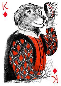 Pack of Dogs Playing Cards: Pedigree Poker — USPCC Printed by John Littleboy » Old Dog & New Pix — Kickstarter