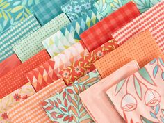 Moda Tucker Prairie by One Canoe Two Precut Fabric - None