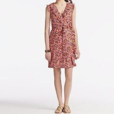 Kate Spade Aubrey painted Wrap Dress In perfect condition. Worn twice. True to size. kate spade Dresses