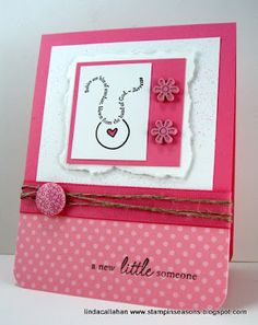 Stampin' Seasons: A New Little Someone - and Blog Candy!