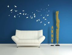 Flock of Birds  Vinyl Decal Wall Decal Wall by VinylWallAdornments, $44.00