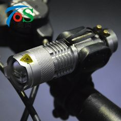 TOS Flashlight Bicycle Light 7 Watt 500 Lumens 3 Modes  Q5 LED Bike Light Front Torch Waterproof lamp + Torch Holder BL000