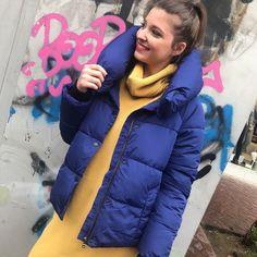 "d97dd26c06fa Mille Bacini on Instagram  ""❄️There is no BLUE without yellow and without  orange❄ ΜΠΟΥΦΑΝ  μπλε και μαύρο‼ 🆘🆘 Για παραγγελίες   πληροφορίες   Στείλτε ..."