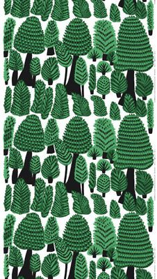Marimekko Forest Dwellers - copied straight from another artwork... Right now I'm ashamed and very angry with Kristiina Isola. Being her mother's daughter and working for Marimekko, YOU DO NOT DO THINGS LIKE THAT!
