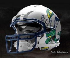 Love the Notre Dame Combat helmet!!!
