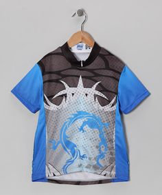 Blue Dragon Cycling Jersey by Rocky Mountain Rags