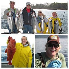 Sitka fishing report Sauerland party experienced three great days with Captain Cobra (Bryan) with hot silver fishing and limits of slot halibut. Read about their trip in our latest report! Halibut Fishing, Fishing Report, Alaska, Slot, Party, Silver, Parties, Money