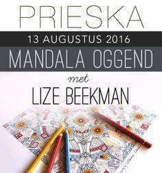MANDALA OGGEND met Lize Beekman in PRIESKA South African Artists, Mandala Art